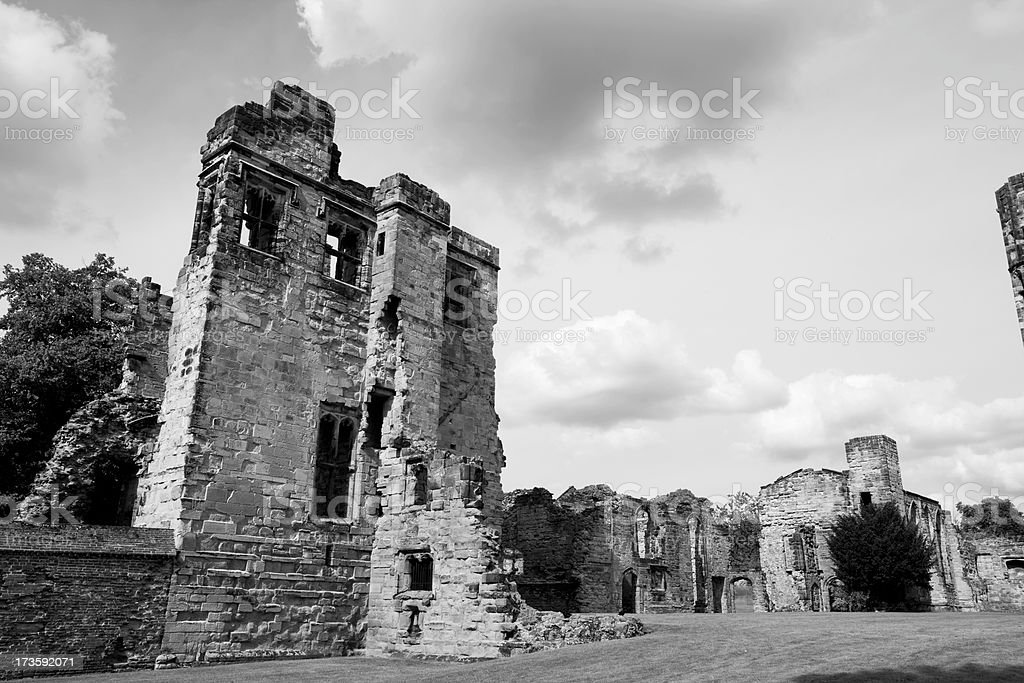 Ashby Castle Ruins royalty-free stock photo