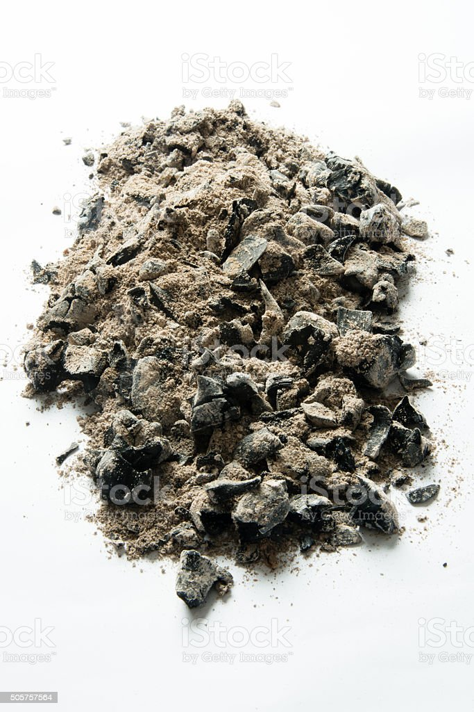 Ashes stock photo
