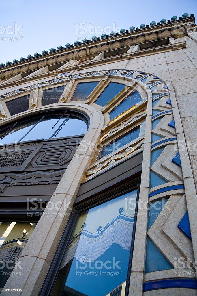 Asheville Architecture stock photo