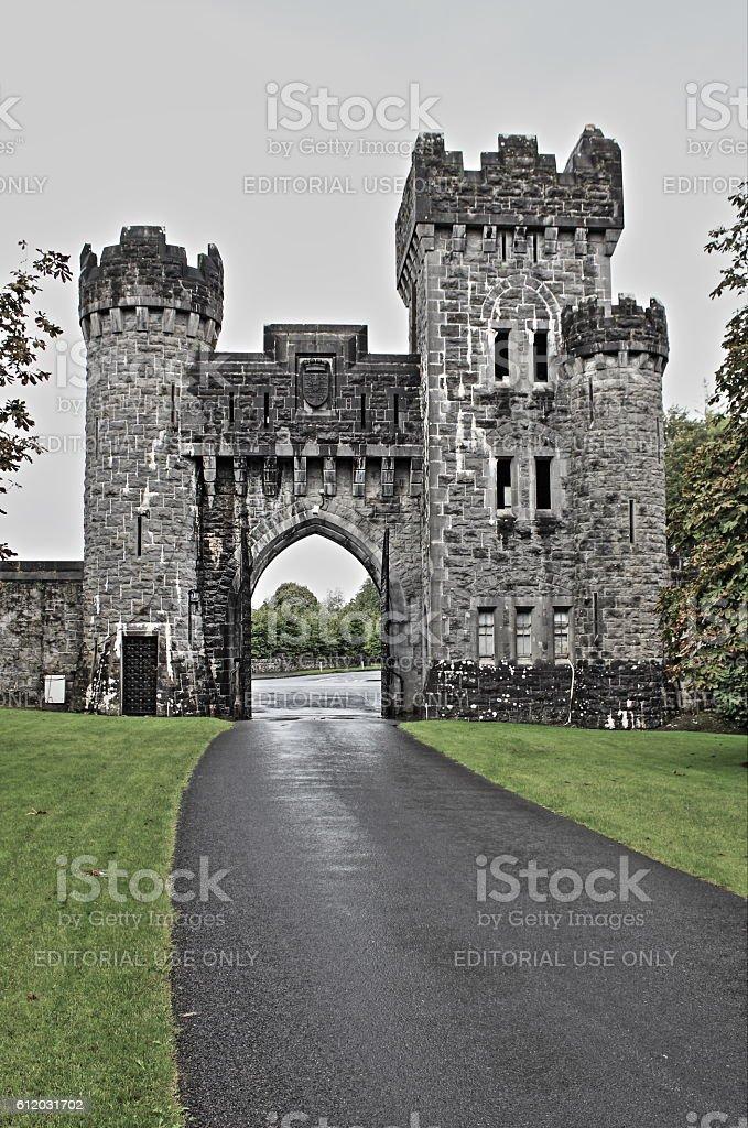 Ashford castle - HDR stock photo