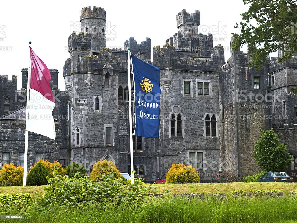 Ashford Castle royalty-free stock photo