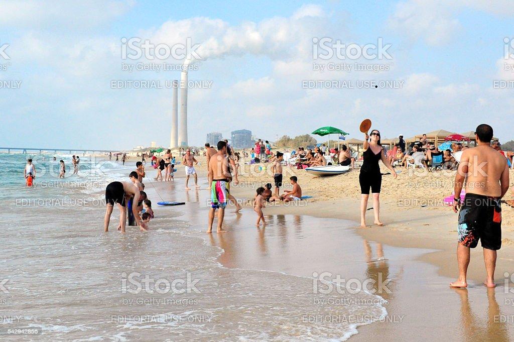 Ashkelon - Israel stock photo