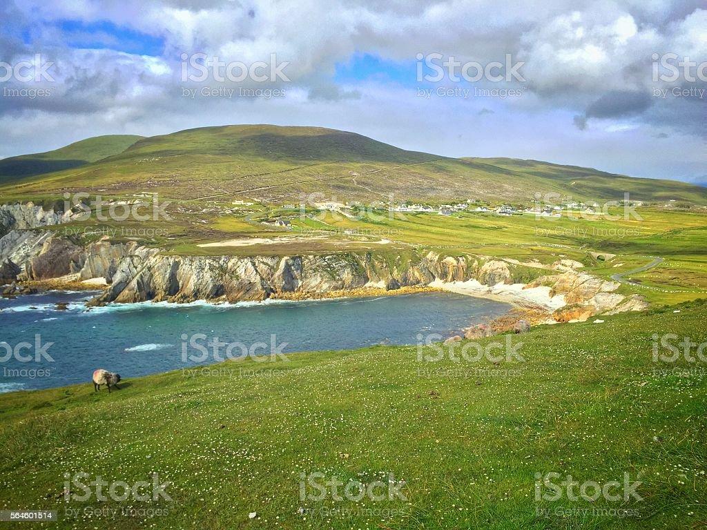 Ashleam Bay Achill Island Wild Atlantic Way Mayo Ireland stock photo