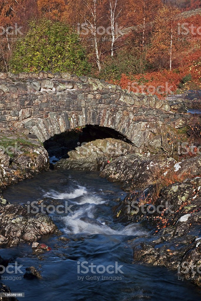 Ashness Bridge royalty-free stock photo