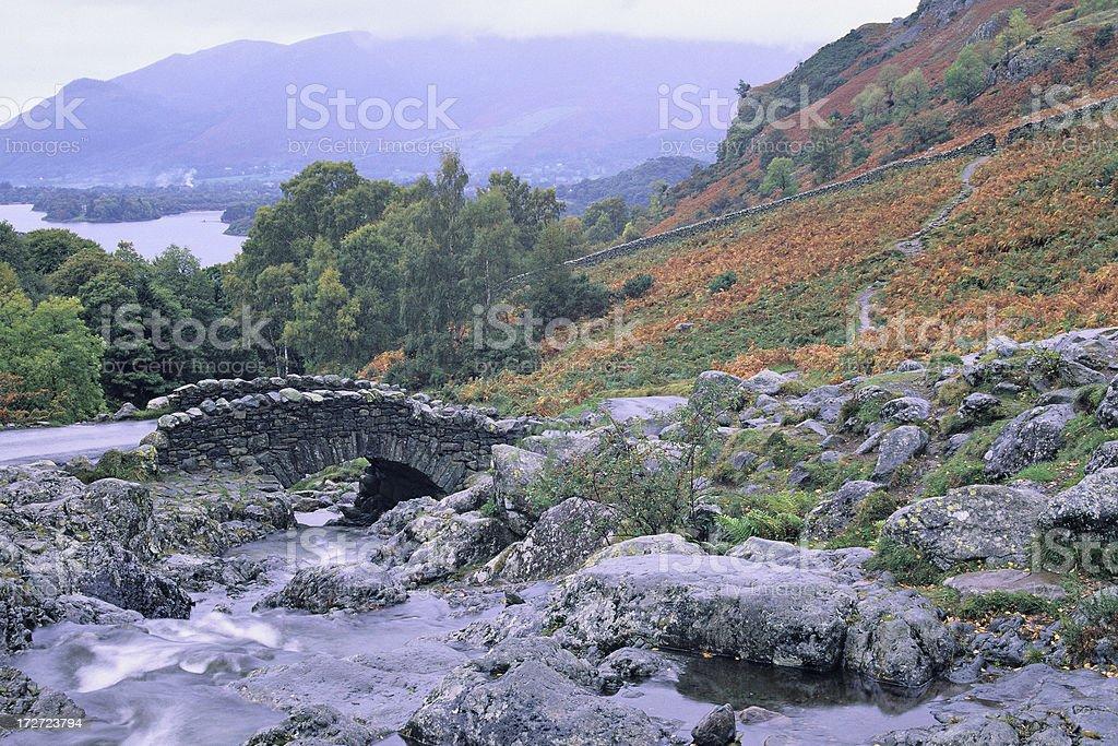Ashness Bridge royalty-free stock photo