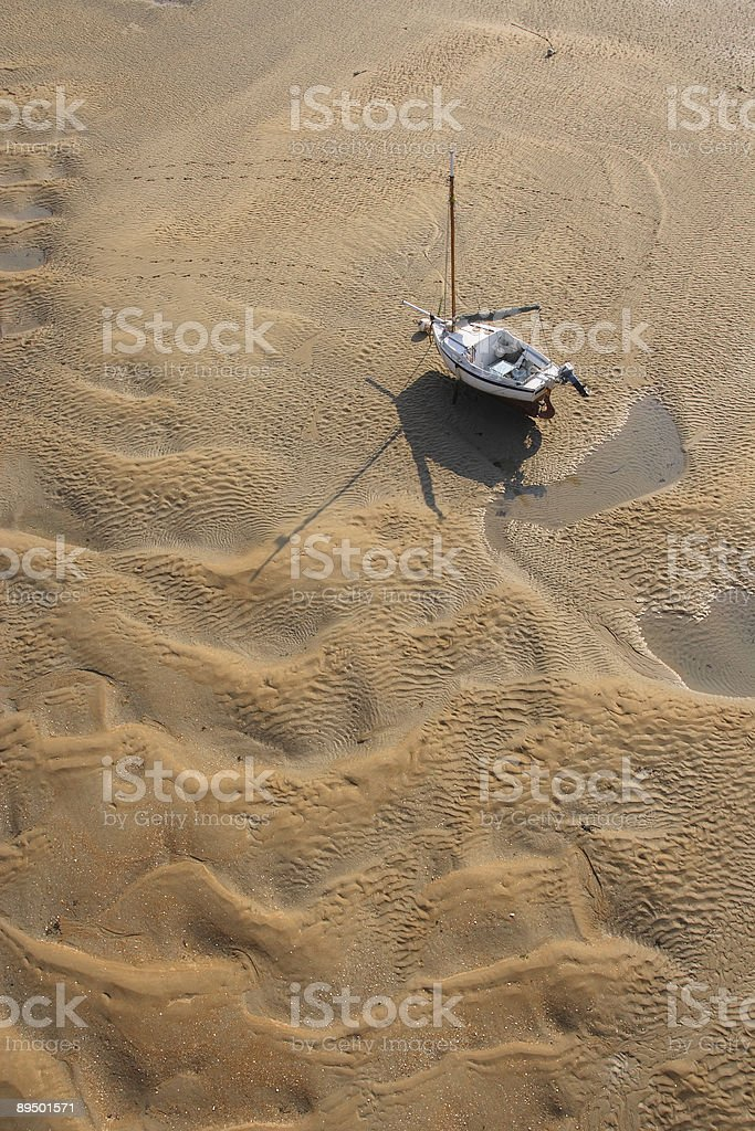 Ashore royalty-free stock photo