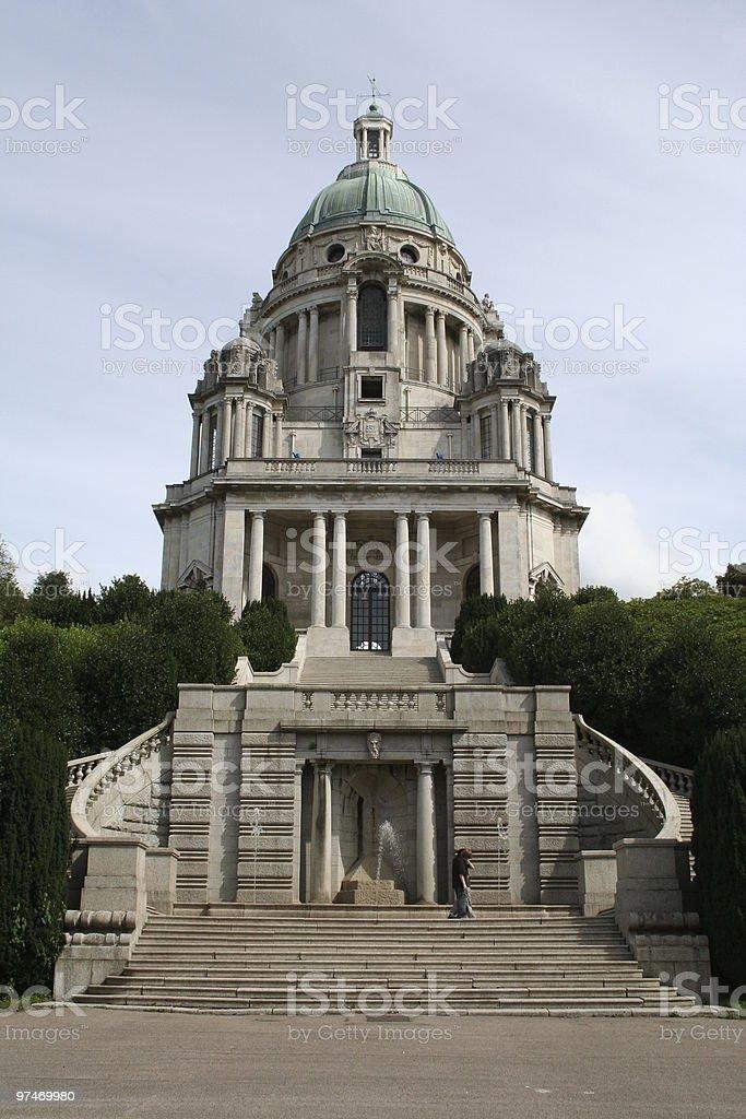 Ashton Memorial. Williamson Park. Lancaster. U.K. stock photo