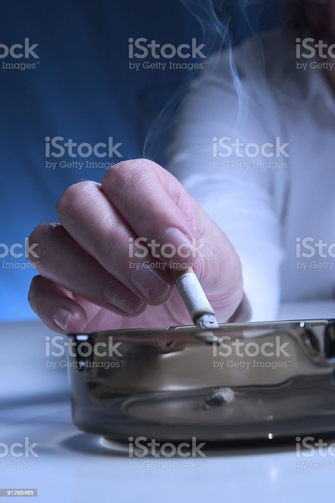 Ashtray royalty-free stock photo