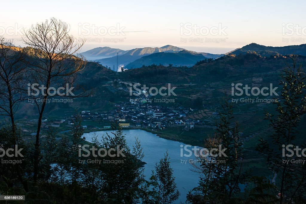 Asia hill stock photo