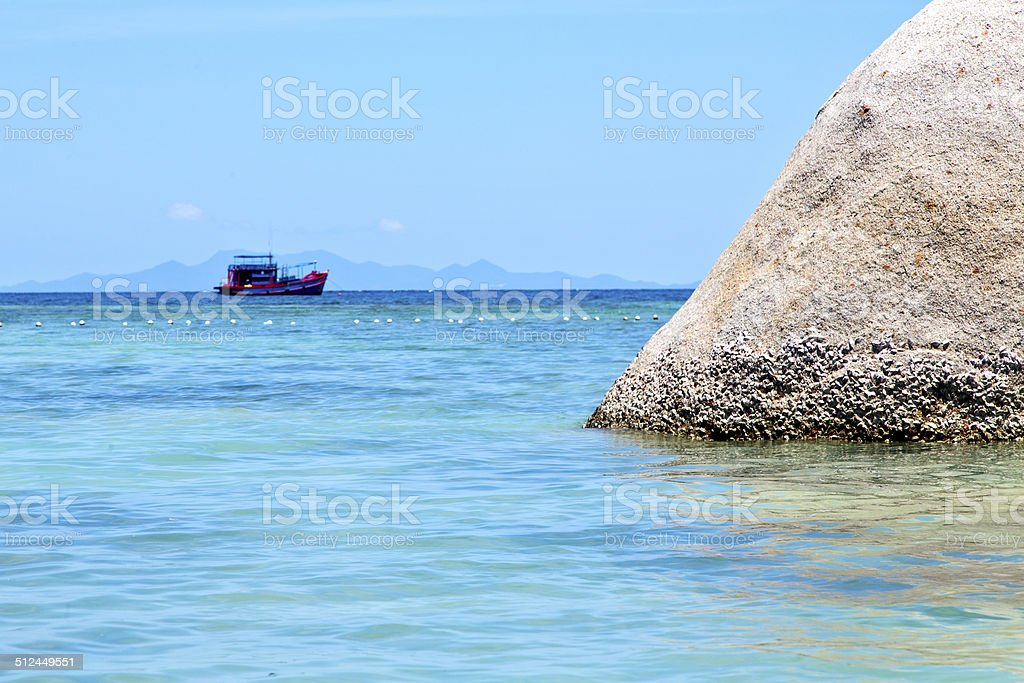 asia  kho   bay   pirogue  in thailand and south   se stock photo