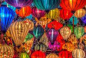 Asia lantern in Hoi An city, Vietnam