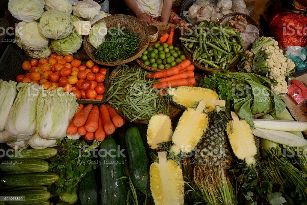 Asia Myanmar Myeik Market stock photo