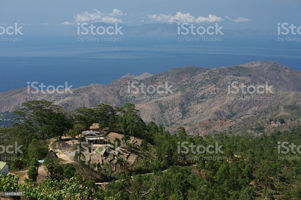 Asia Ost Timor Timor-Leste Landscape stock photo