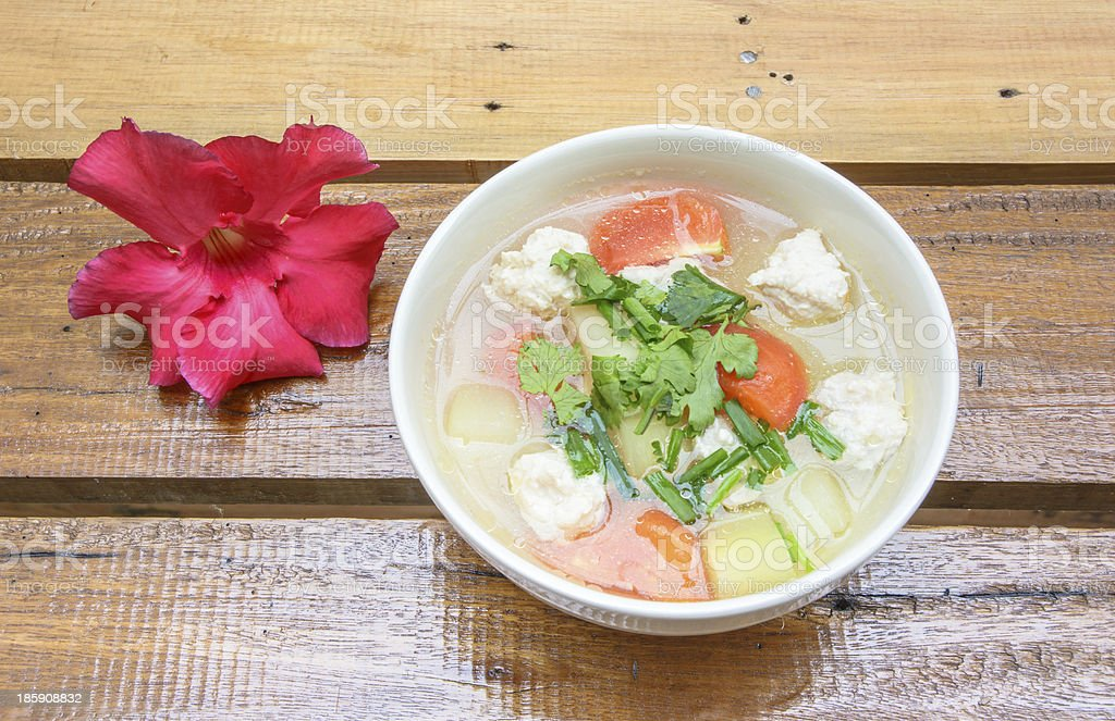 asia soup food royalty-free stock photo