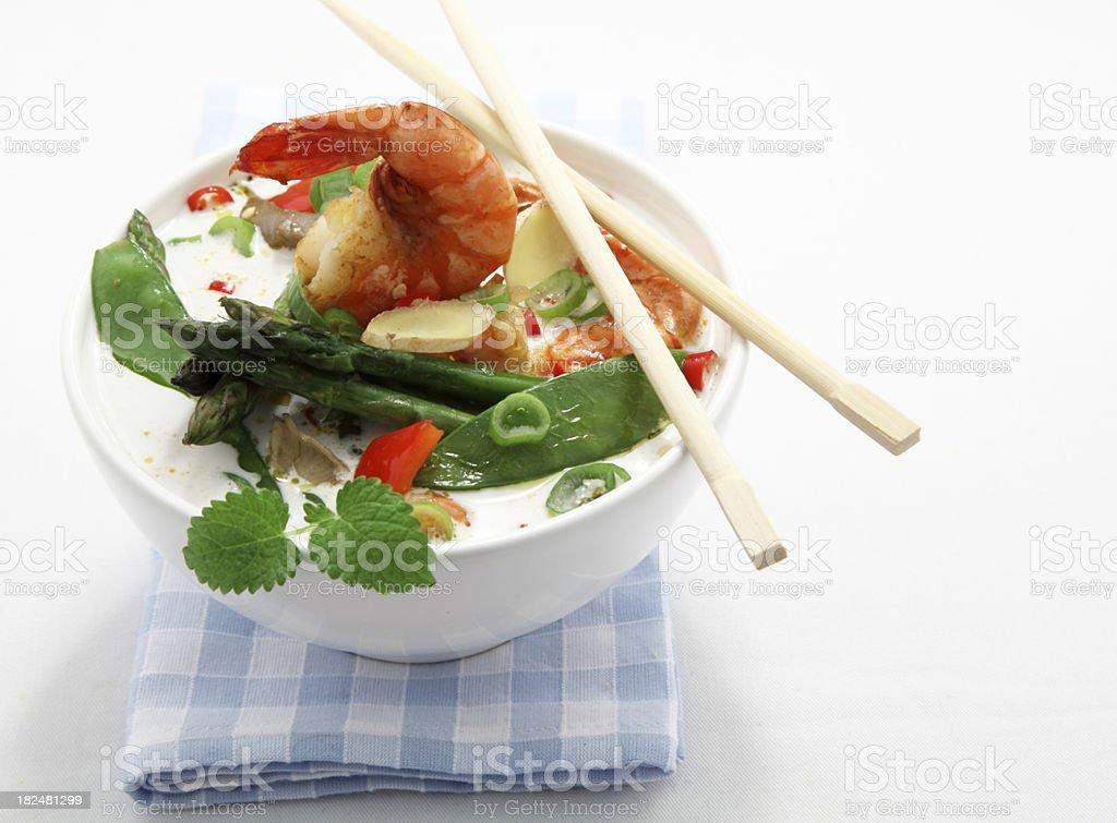 Asia soup stock photo