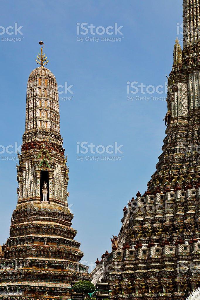 asia  thailand   bangkok    sky      and  colors religion stock photo