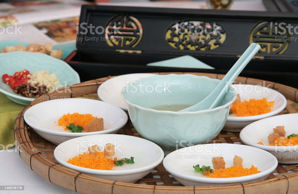 Asian appetizer royalty-free stock photo