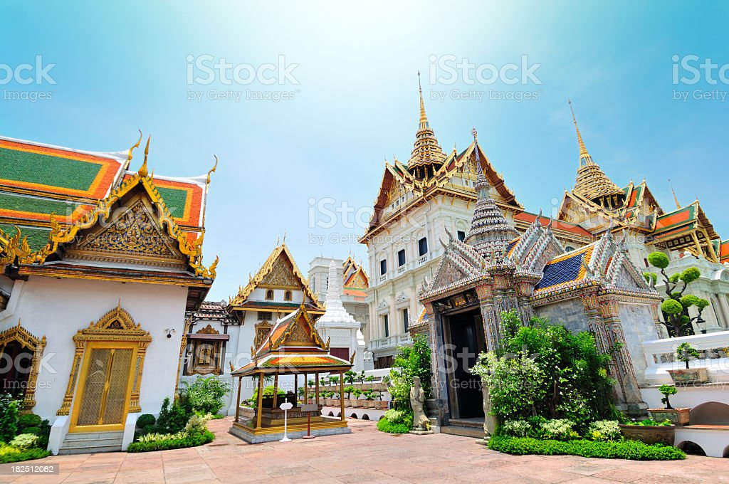 Asian architecture royalty-free stock photo
