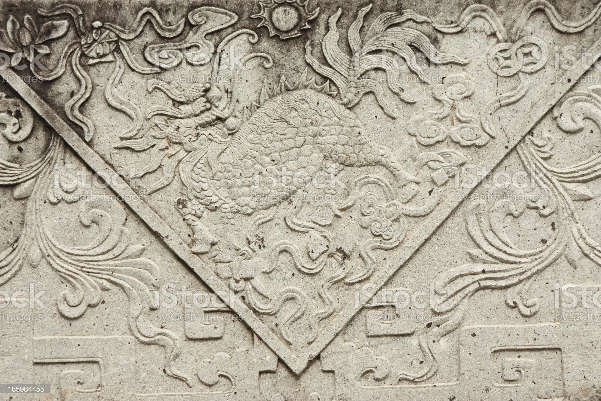 Asian arts grave background royalty-free stock photo