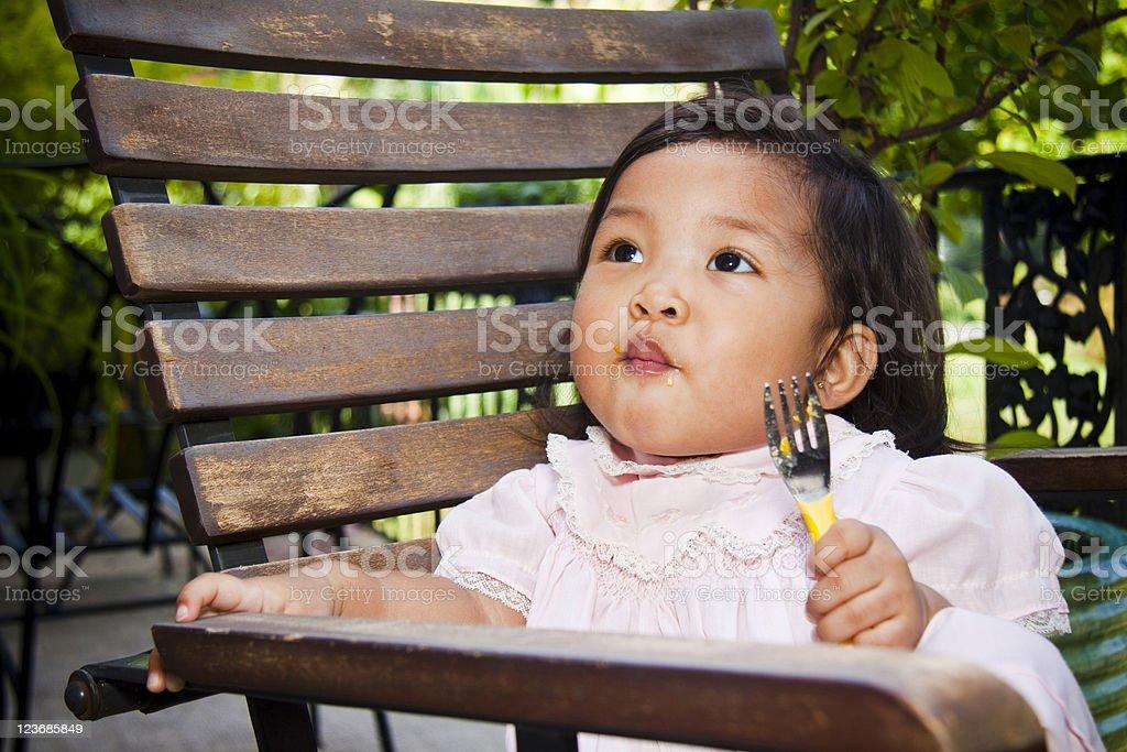 Asian Baby Girl royalty-free stock photo