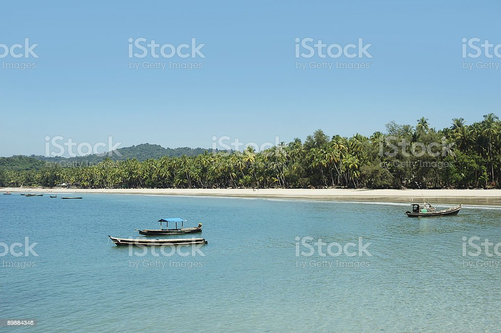 asian beach royalty-free stock photo