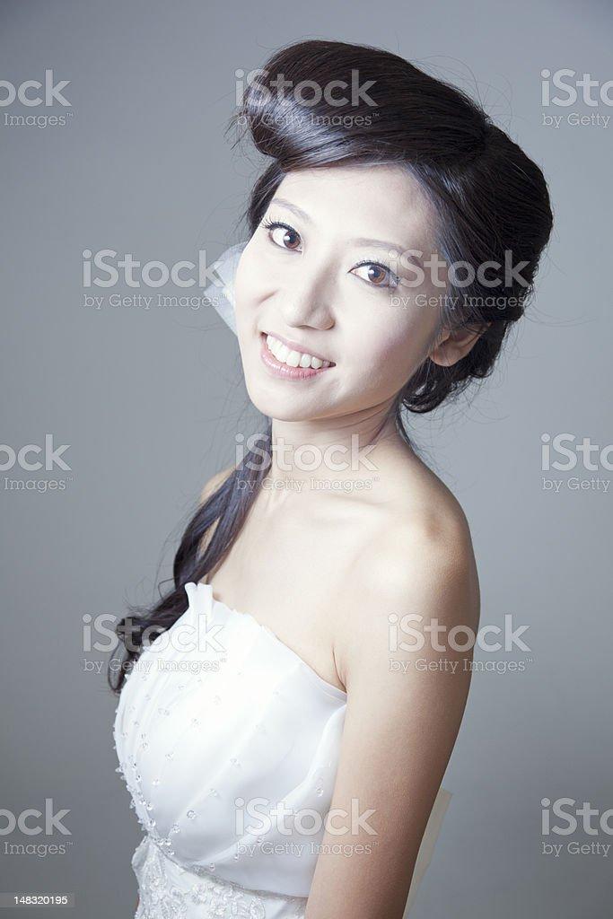 Asian Beauty Fashion royalty-free stock photo