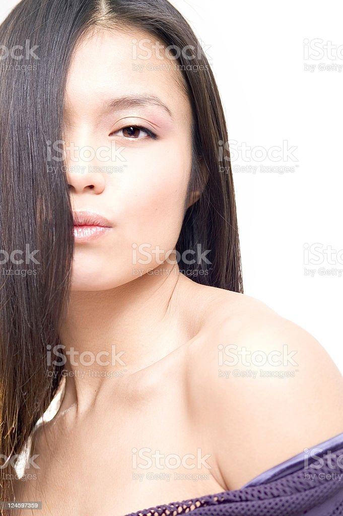 Asian Beauty stock photo