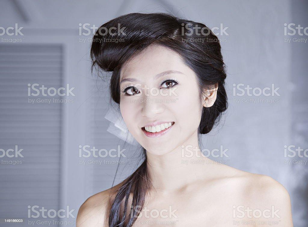 Asian Beauty. royalty-free stock photo