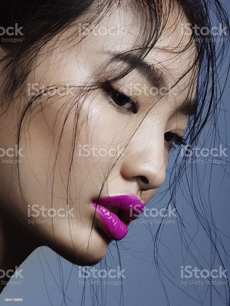 Asian beauty stock photo
