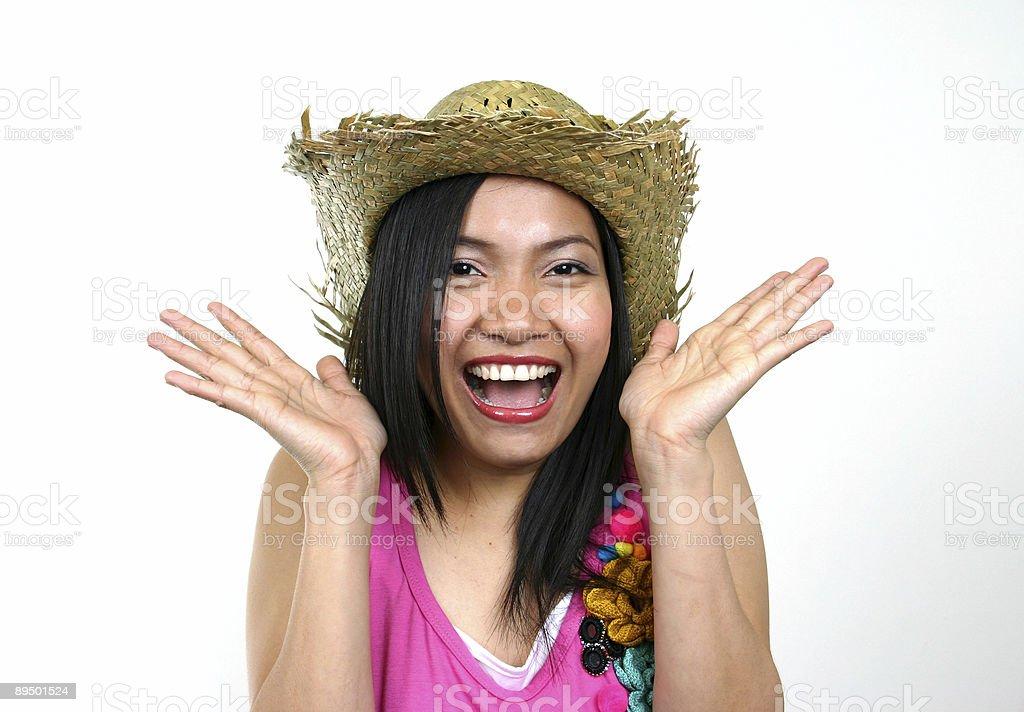 Asiatische Schönheit (Serie Lizenzfreies stock-foto
