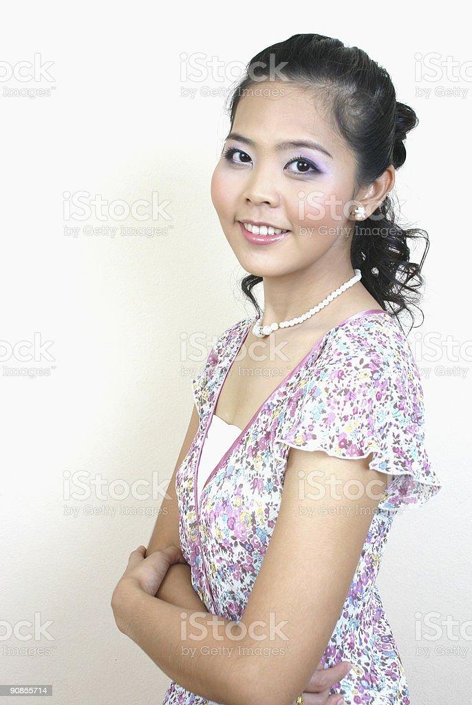 Asian beauty (series) royalty-free stock photo