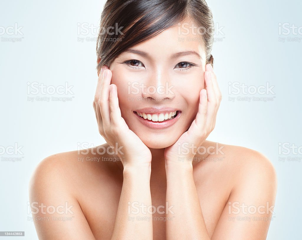 Asian Beauty Smile royalty-free stock photo