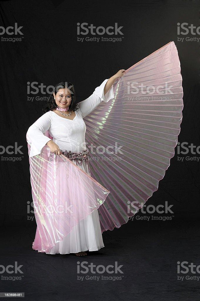 Asian Belly Dancer stock photo