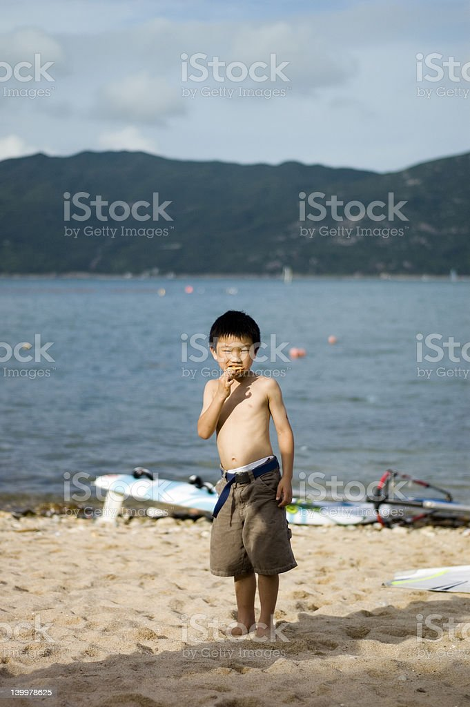 asian boy royalty-free stock photo