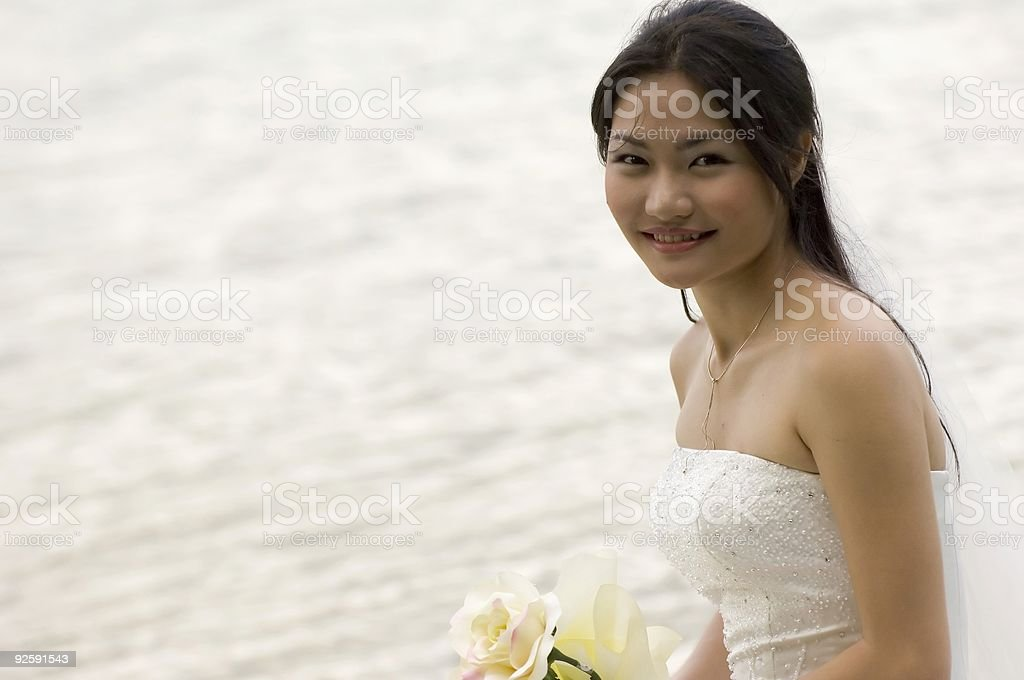 Asian Bride 2 royalty-free stock photo
