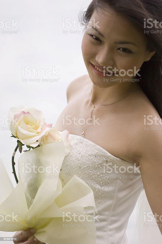 Asian Bride 20 royalty-free stock photo