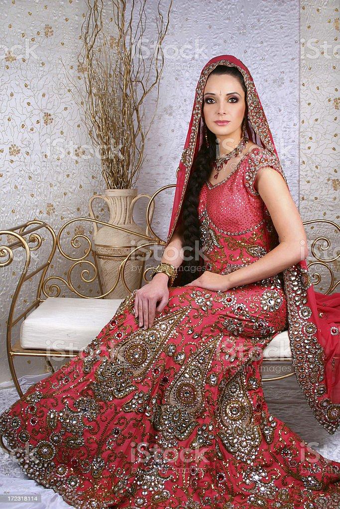 Asian Bride - Zaina stock photo