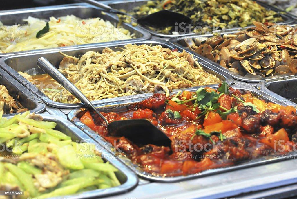 asian buffet royalty-free stock photo
