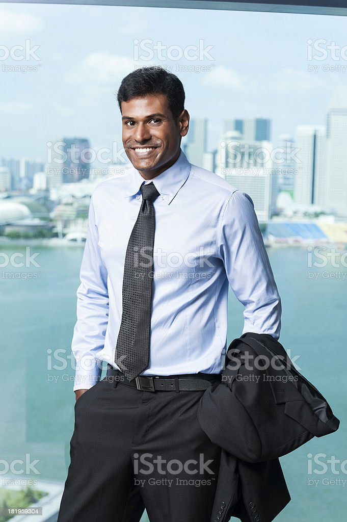 Asian Business Man royalty-free stock photo