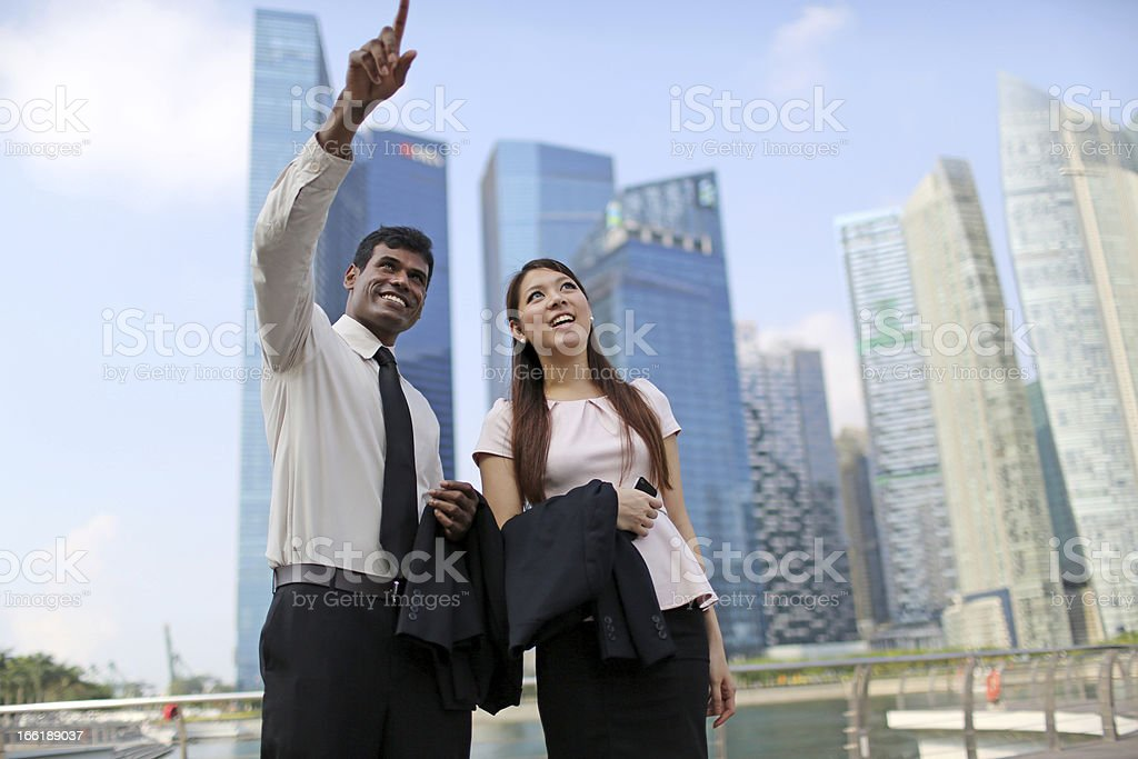 Asian Business Professionals royalty-free stock photo