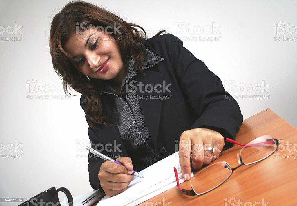 Asiatische Geschäftsfrau (Serie Lizenzfreies stock-foto