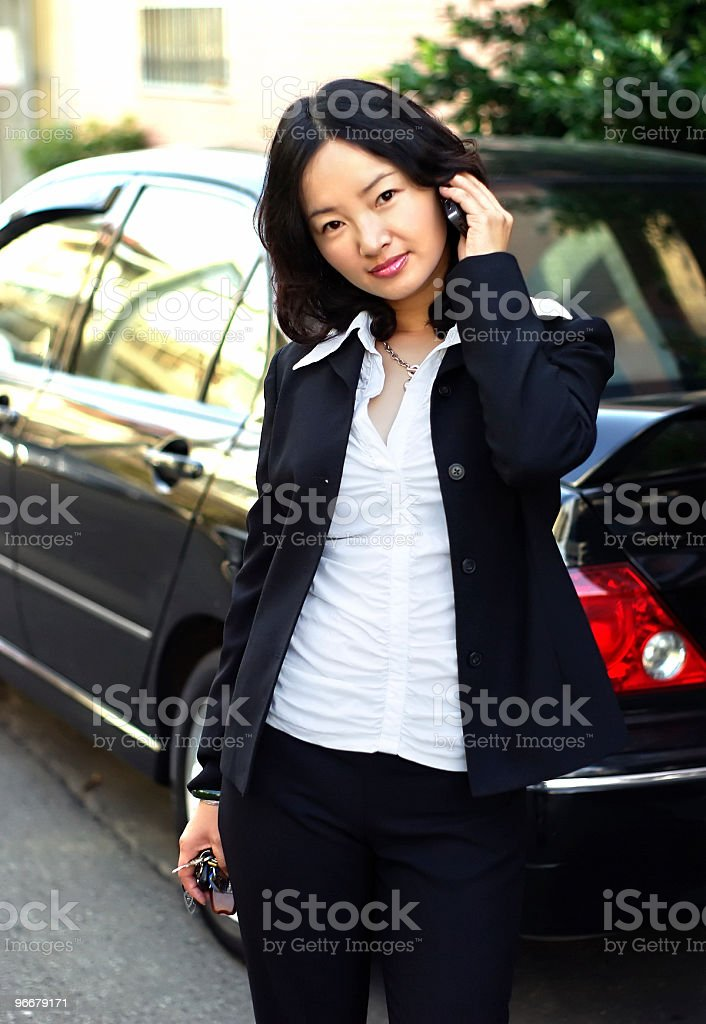asian business woman royalty-free stock photo