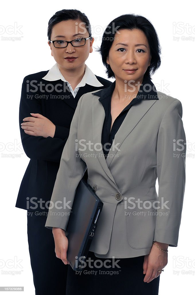 Asian business women series royalty-free stock photo