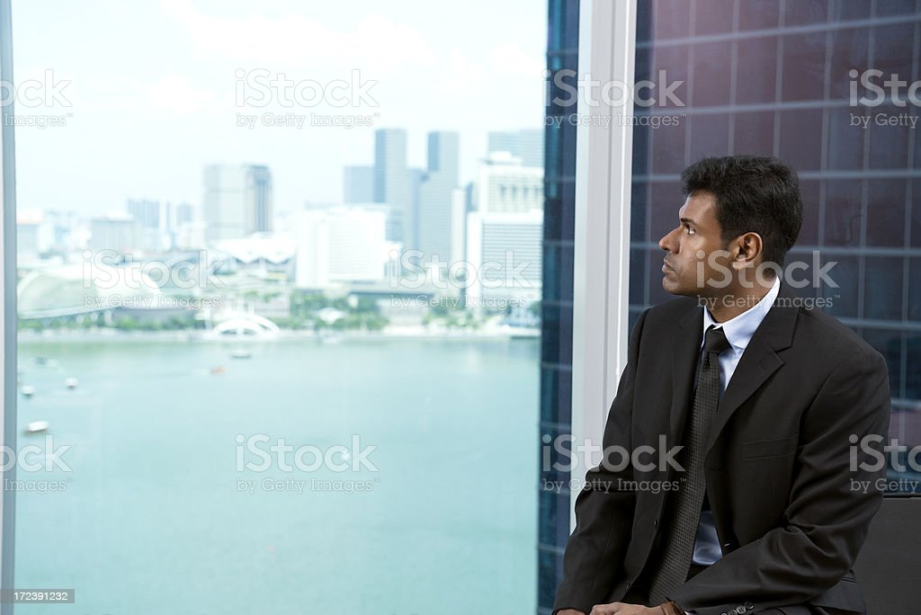 Asian businessman royalty-free stock photo