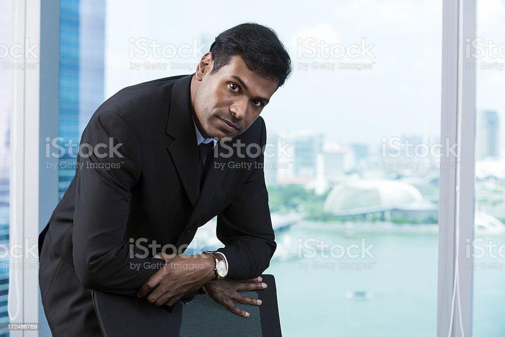 Asian businessman royalty-free stock photo