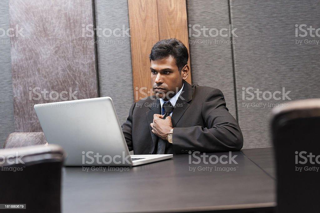 Asian businessman stock photo