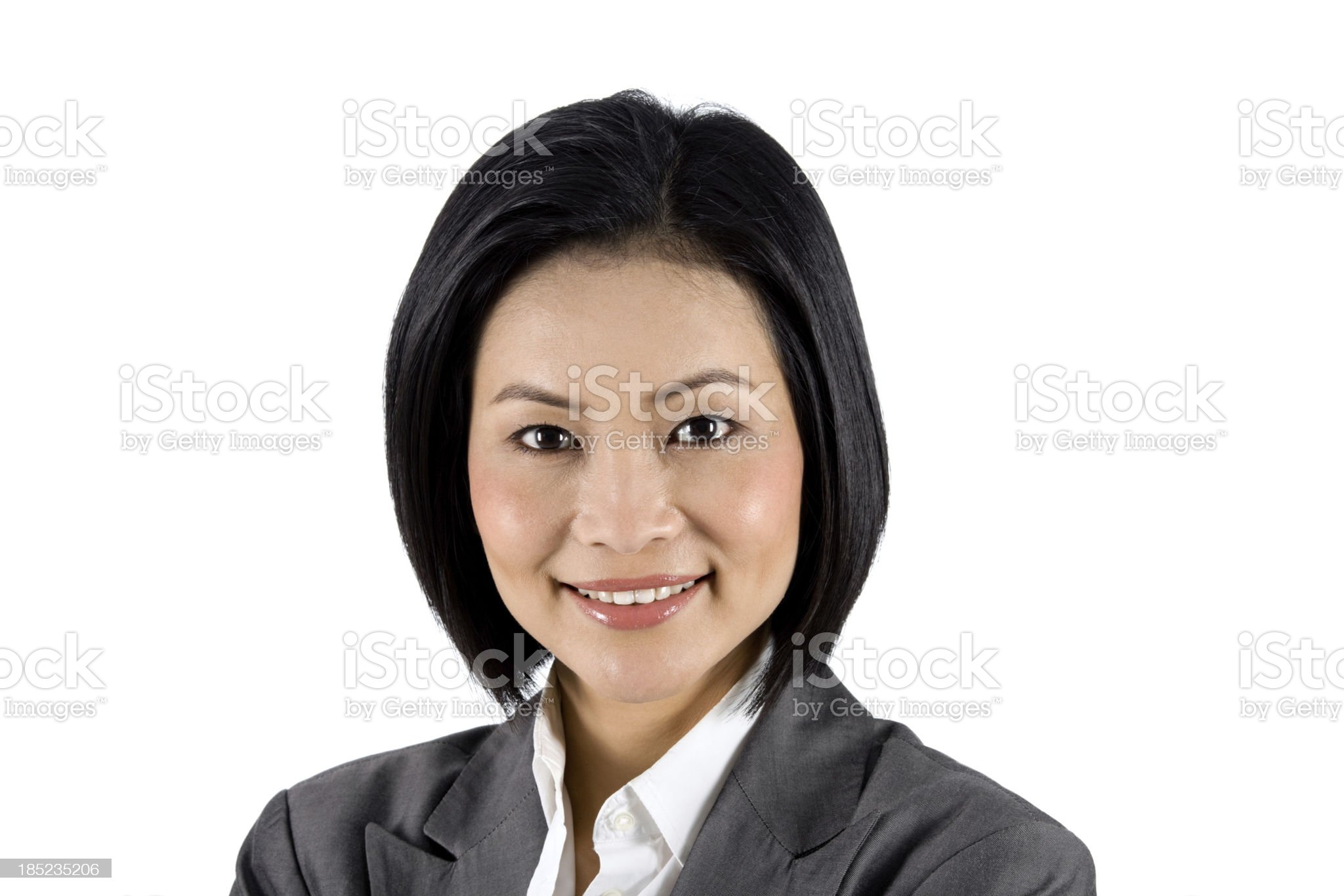 Asian Businesswoman royalty-free stock photo