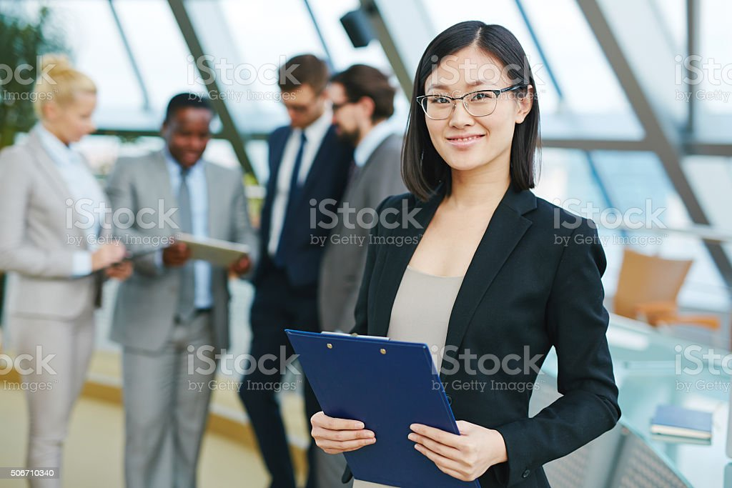 Asian businesswoman stock photo