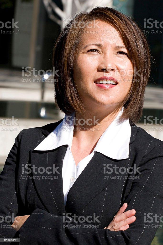 Asian Businesswoman Series royalty-free stock photo