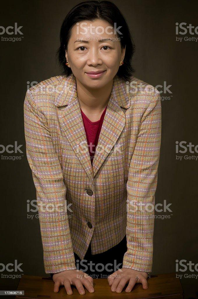 Asian businesswomen royalty-free stock photo